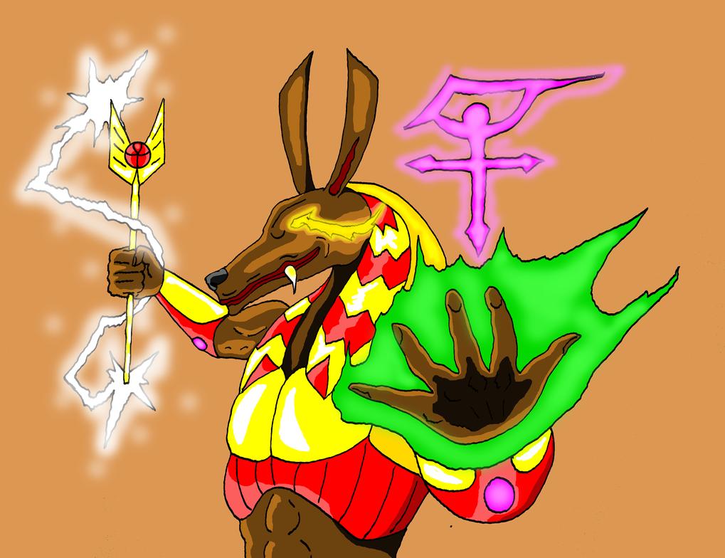 Set, god of evil by GalaxyZento