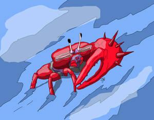 Harold the Giant Fiddler Crab