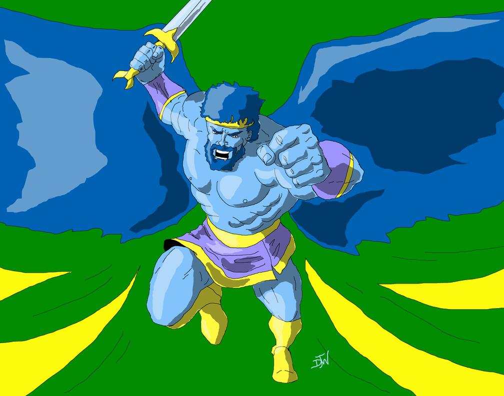 Daxeon, angel of vengeance by GalaxyZento