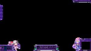 PurpleChibi by m3ndi3