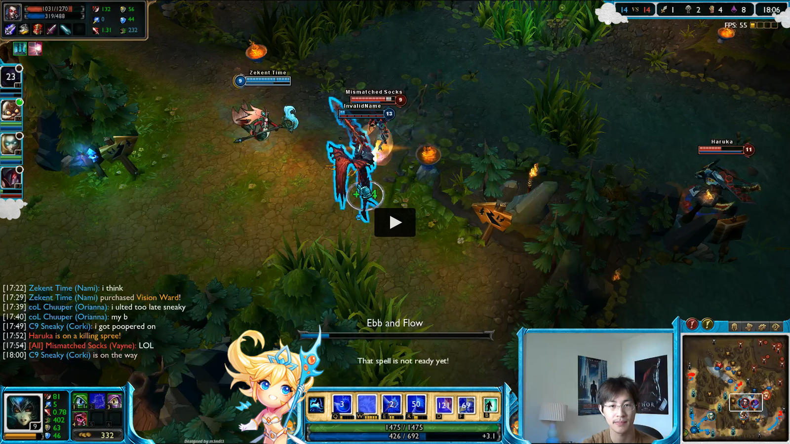Janna Overlay for Zekent by