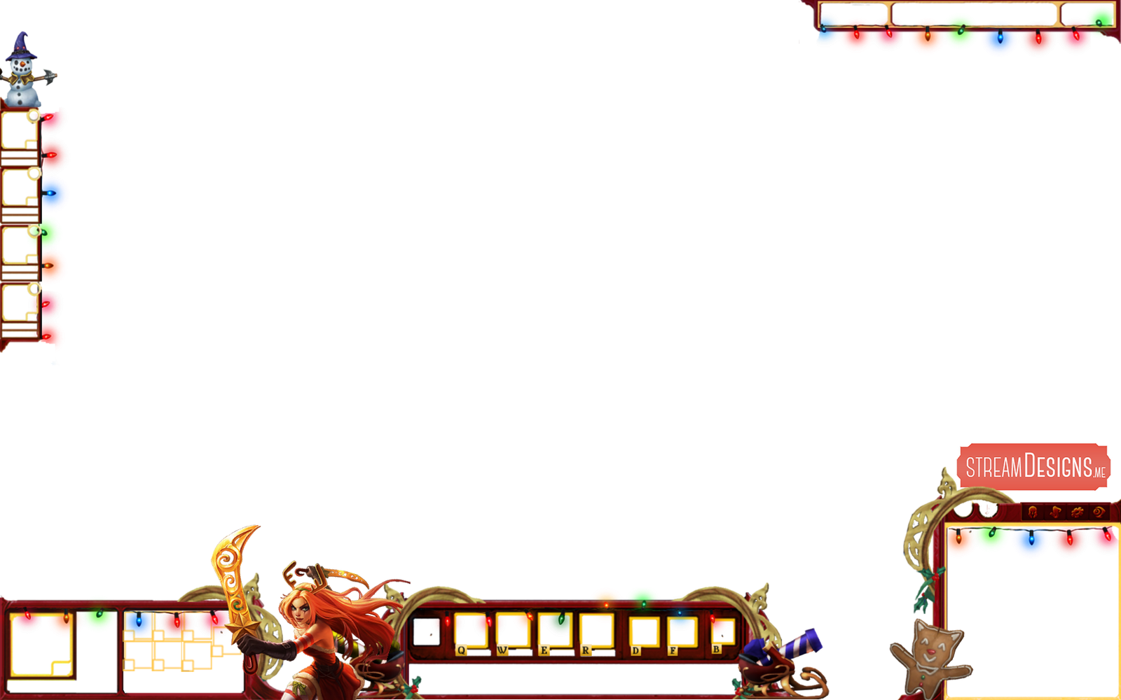 Christmas League of Legends Overlay by m3ndi3 on DeviantArt