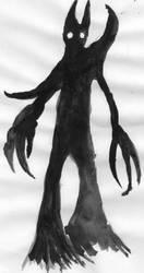 shadow angel III moonwolf by Zzaggraff