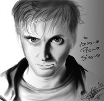 David Tennant by DRGNFL