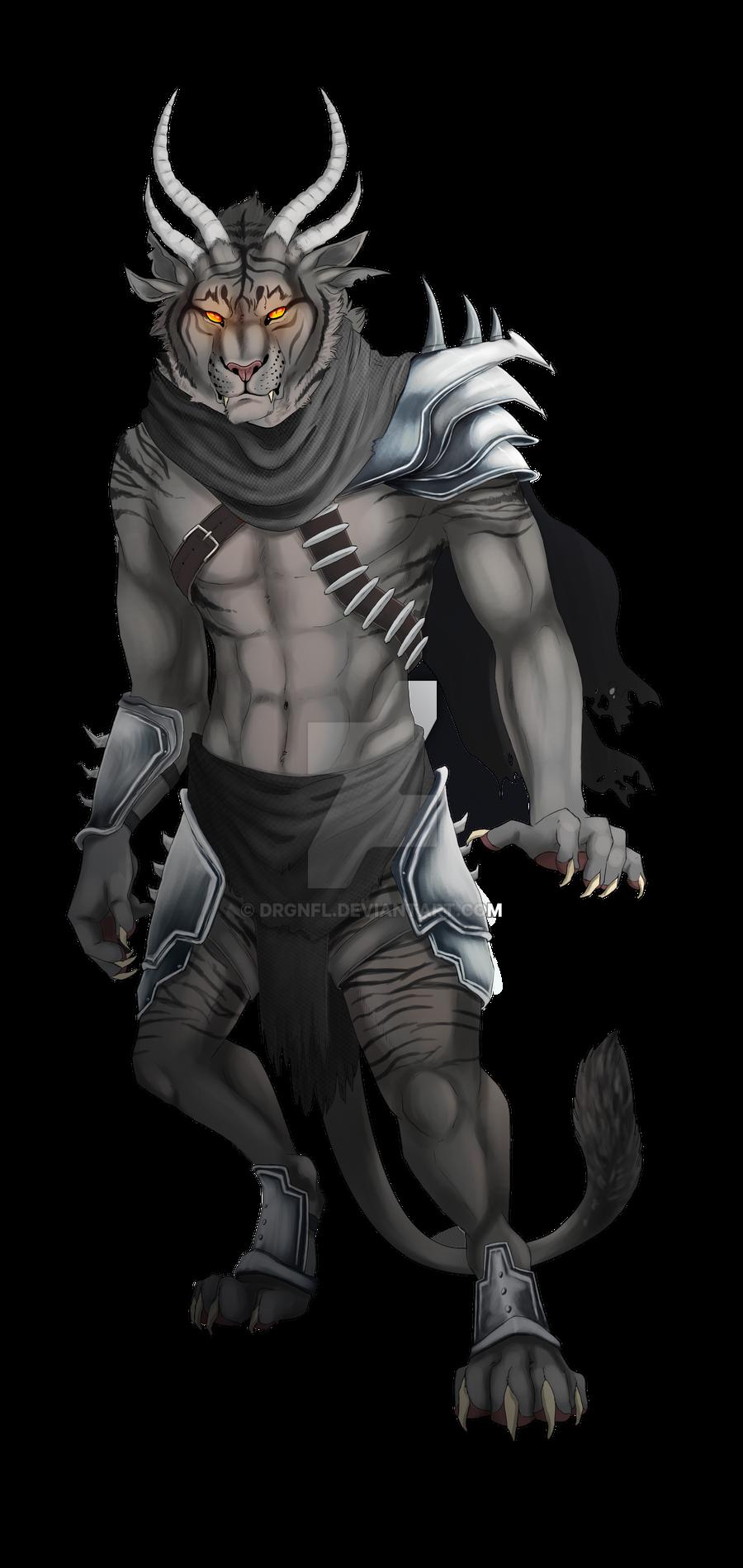 Charr guy by TorazTheNomad