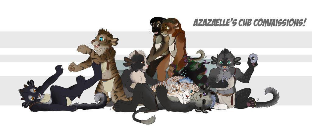 Charr Cub commissions batch 3 by TorazTheNomad