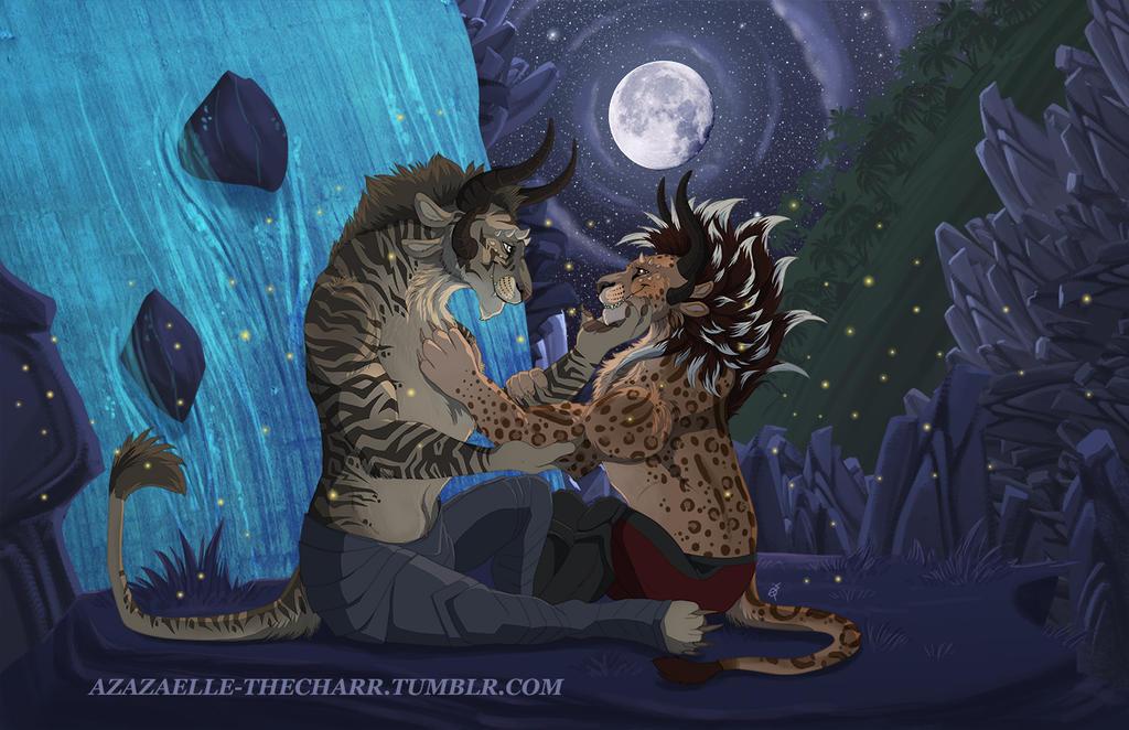 Maguuma night sky - Devlin commission by TorazTheNomad