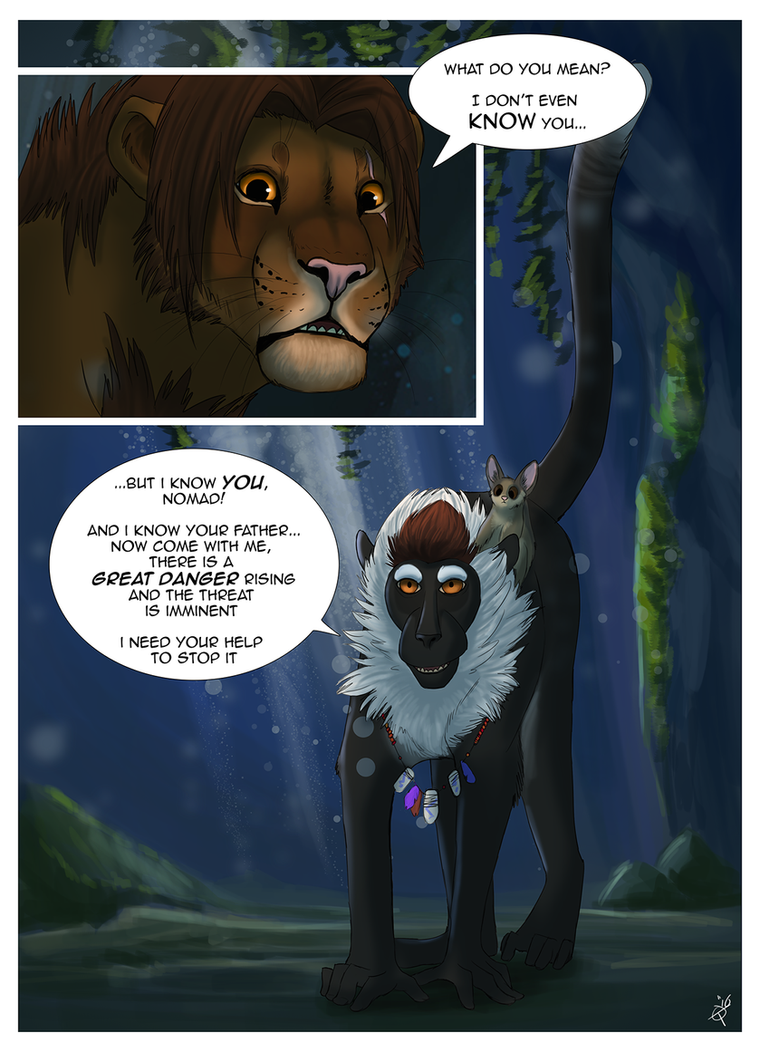 The Outcast page 96 by TorazTheNomad