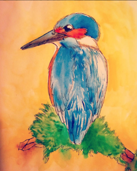 Kingfisher by TorazTheNomad
