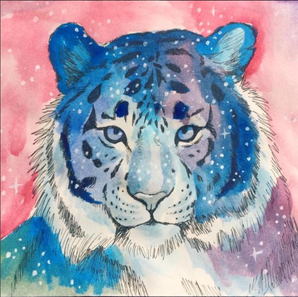 Galaxy tiger by TorazTheNomad