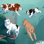 Underwater fishing 1 - Tokotas