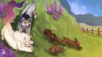 Rabbit Roundup - Easter Festival - Tokotas