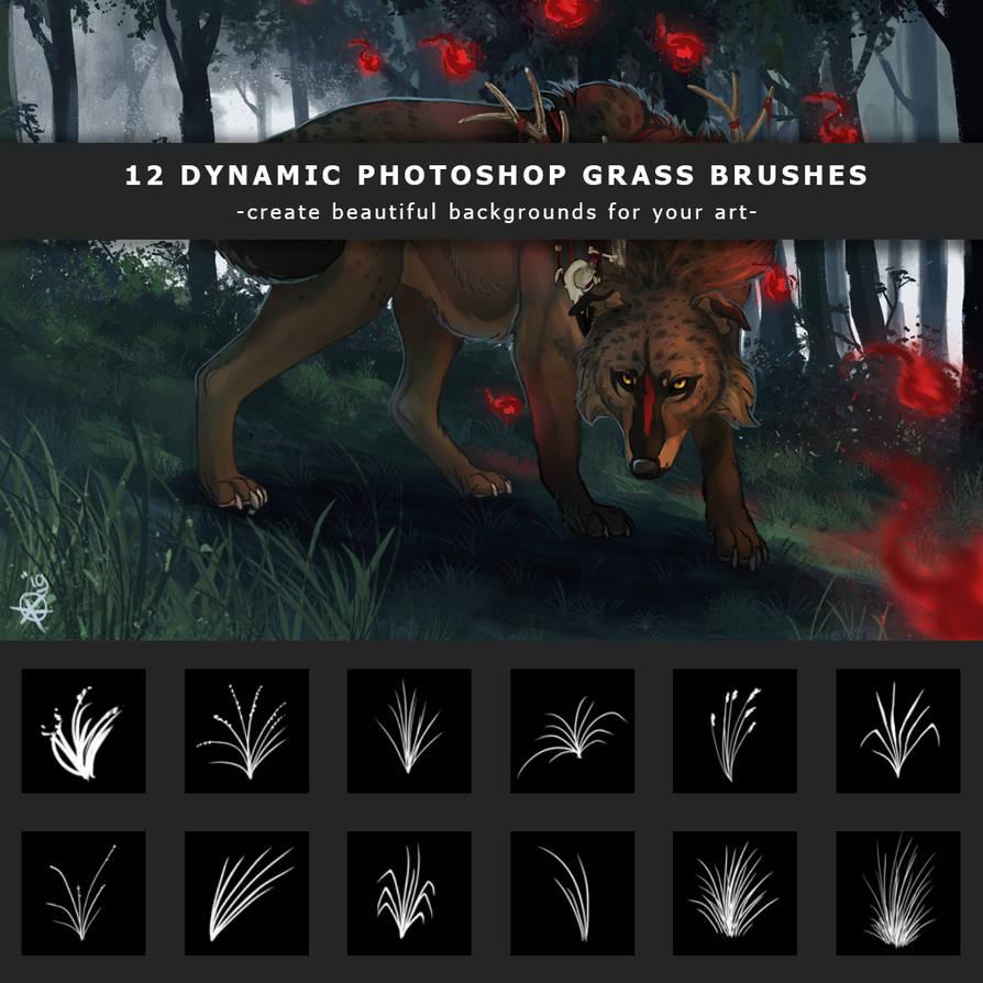 Photoshop grass brushes