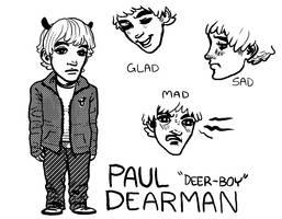 Deer-Boy by leggylarue