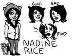 Nadine by leggylarue
