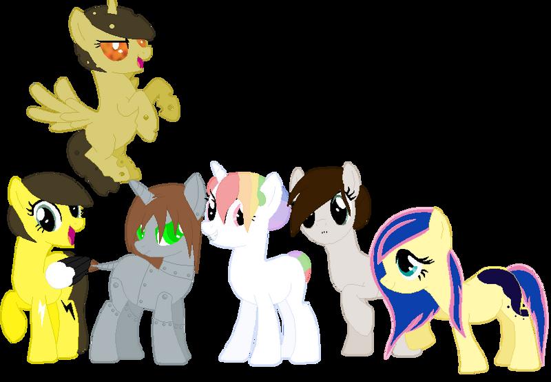 Sona Project: Ponysonas by Hollowolfpup