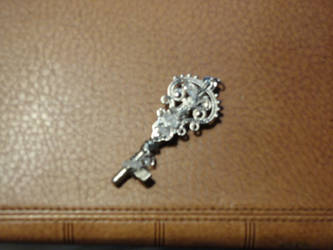 Little and Broken But... Key Pendant