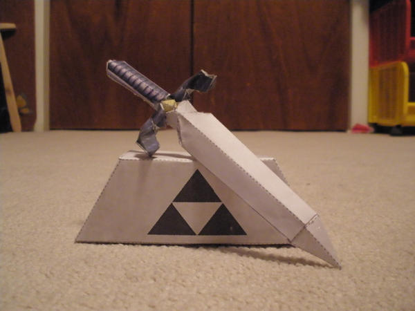 Master Sword 2 Papercraft By Pancakes D