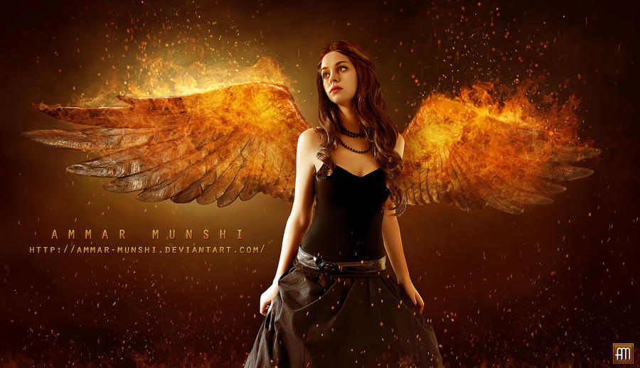 burning angels