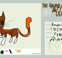 TGB: Orange Air - Amoni by Stealthfire231