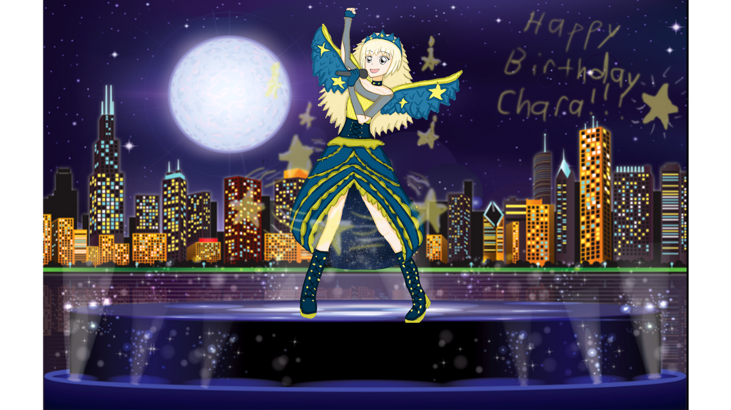Chara's birthday performance by Chara2194