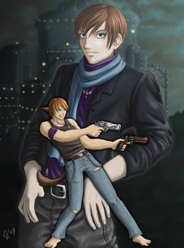 Commission: Koji and Shuto