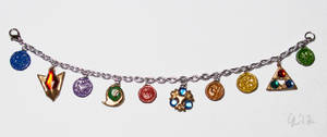 Ocarina of Time Charm Bracelet