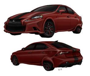 Lexus IS Custom by raiyneofgailin