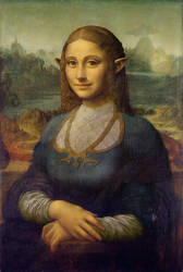 Mona Zelda by raiyneofgailin
