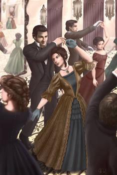 Lara and Jacob on the Ballroom Floor