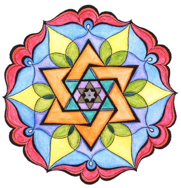 Gallery For u0026gt; Simple Mandala
