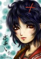 Sai in seifuku by Tomochii