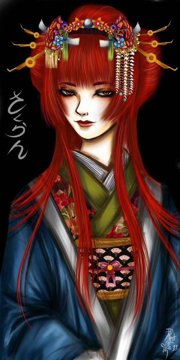 Oiran by Tomochii