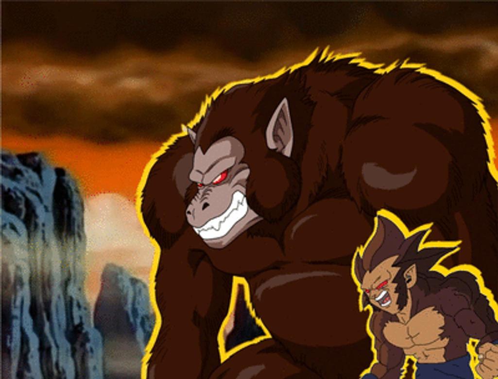Tarroc Semi Oozaru Animation By Wickedredgrin On Deviantart