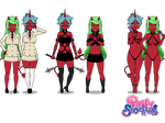 Scanty and Kneesocks w/ Exports