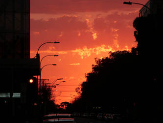 Apocalyptic Sky by the-lil-leprechaun