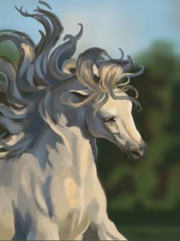 Horse Painting- gift art