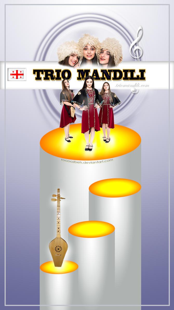 Trio Mandili, Georgian Music Band by roooozbeh