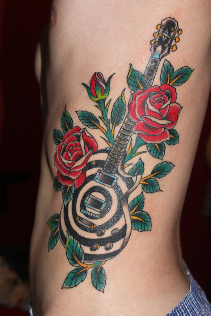 Tattoo epiphone les paul zakk wylde by tweber on deviantart for Tattoo singapore forum