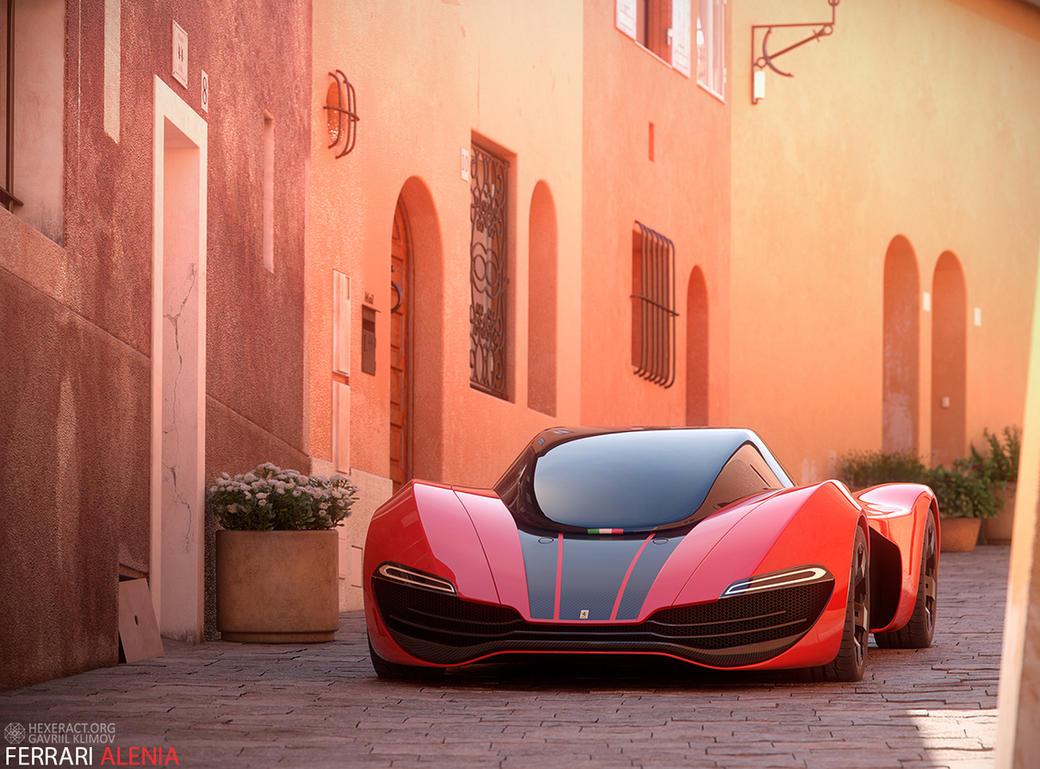 Ferrari Alenia by gavriilklimov