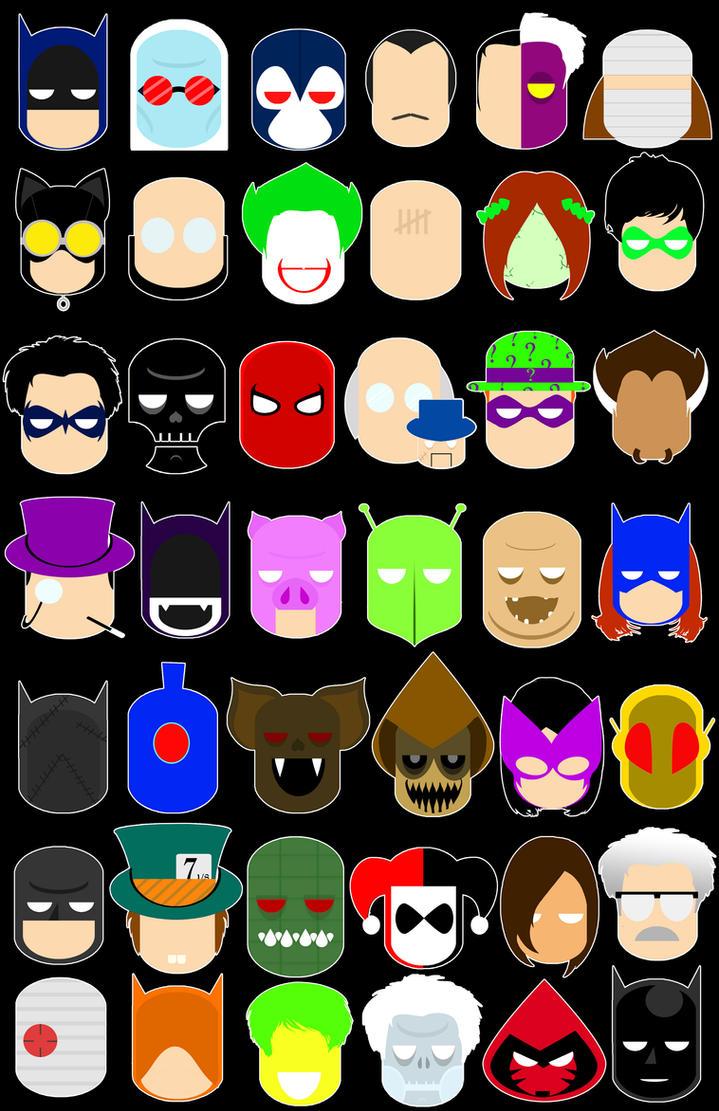 DC Iconz: Batman by Yusef-Muhammed