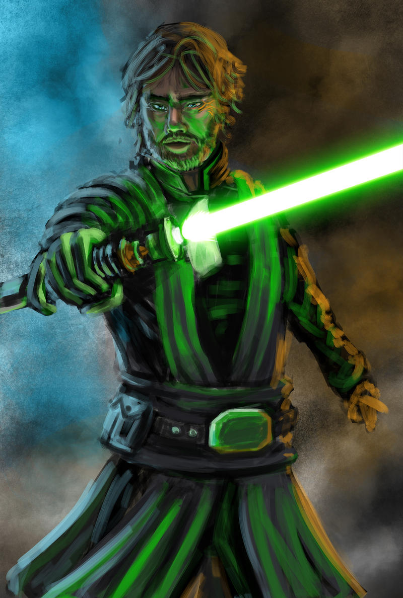 Jedi Master Luke Skywalker by emile-espinosa on DeviantArt