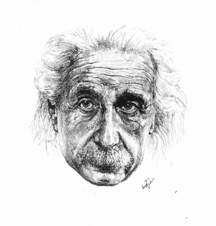 Albert Einstein by Lukas1212