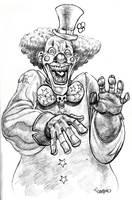 Evil Clown by Pancho-Villa