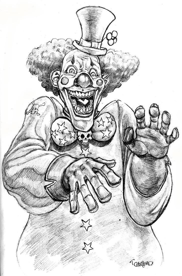 Evil Clown by Pancho-Villa on DeviantArt