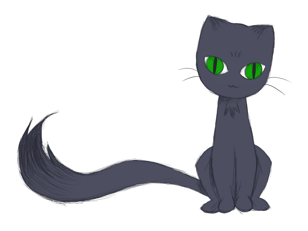 Line Art Earth : Transparent blue gray cat by separate the earth on deviantart