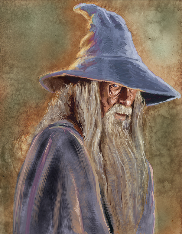 The Gandalf by munkierevolution