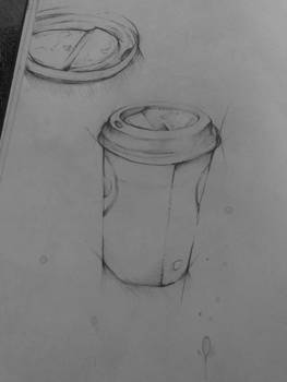 Coffee Cup Sketch 3rd sketch of this year