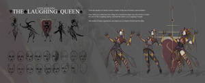 The Laughing Queen Character Progression