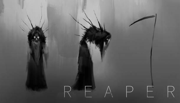 Reaper Concept Ideas - Progression (Unfinished)
